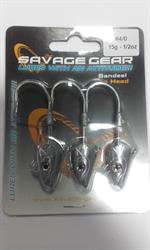 SAVAGE GEAR JIG HEAD 15GR 4/0