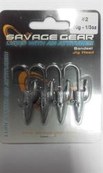 SAVAGE GEAR JIG HEAD 10GR 2