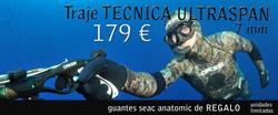 Traje TECNICA ULTRASPAN 7 mm + REGALO