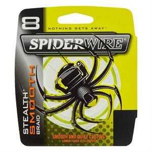 SPIDER STEALTH SMOOTH 8 MOSS YELLOW 150 MTS